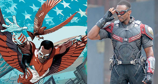 The Falcon en Capitán America Civil War