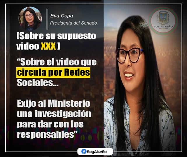 Video XXX de Eva Copa