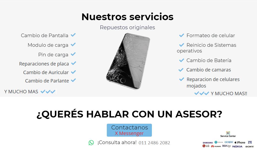ee43c4f0357 Reparaciones de celulares Multimarca - Service Center Avellaneda ...