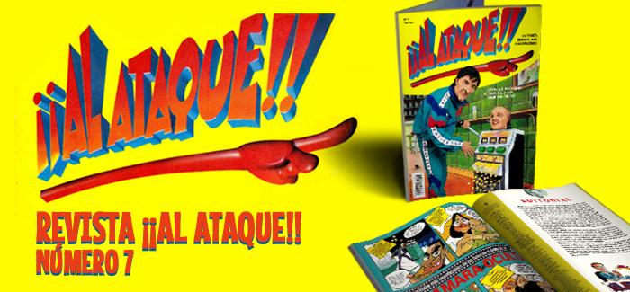 Revista ¡¡Al Ataque!! Nº 7 (Ediciones B, 1993)