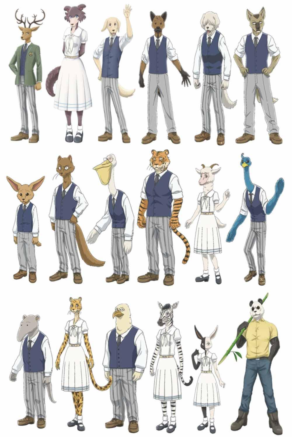 Beastars anime - personaje