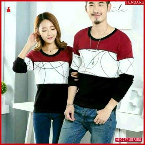 AKC277S41 Sweater Couple Round Anak 277S41 Pasangan Kombinasi BMGShop