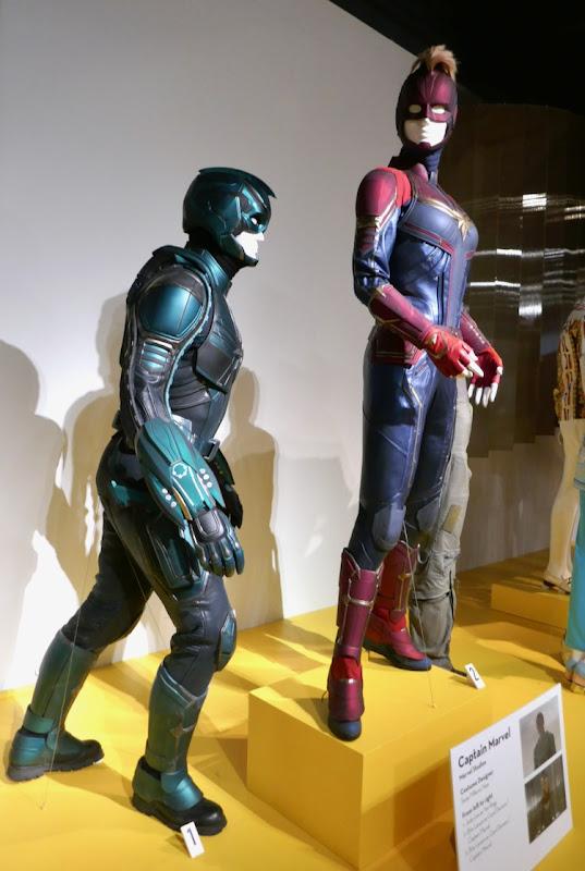 Captain Marvel movie costumes FIDM Museum