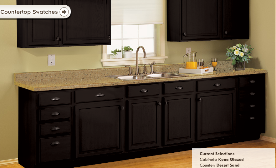 Virtual Kitchen Makeover Sink Replacement Always A Northerner: Diy Cabinet Makeover?