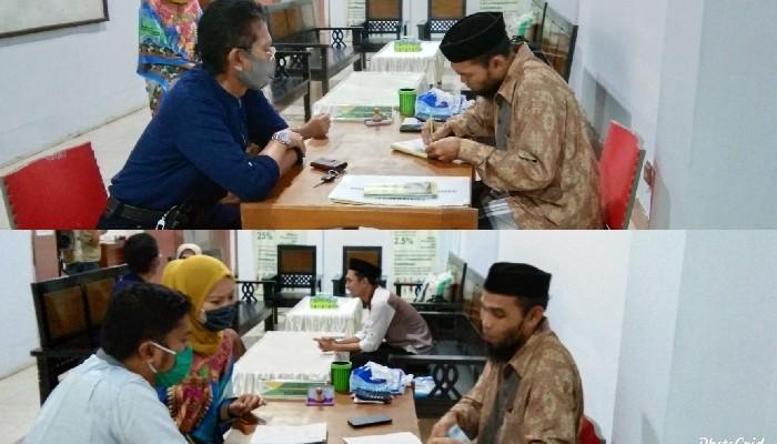Kadis Kesehatan dan Kominfo Percayakan Baznas Bayar Zakat Fitrah