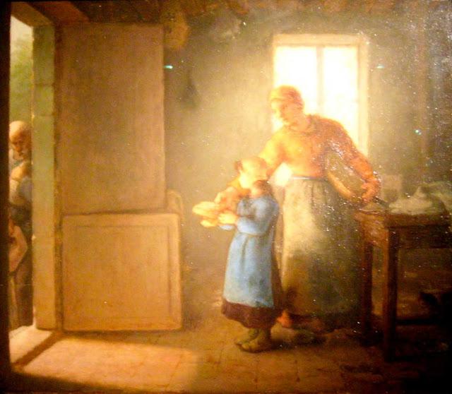 Жан Франсуа Милле - Милостыня. 1859