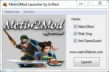 Metin2Mod Launcher by IrcRest 2017