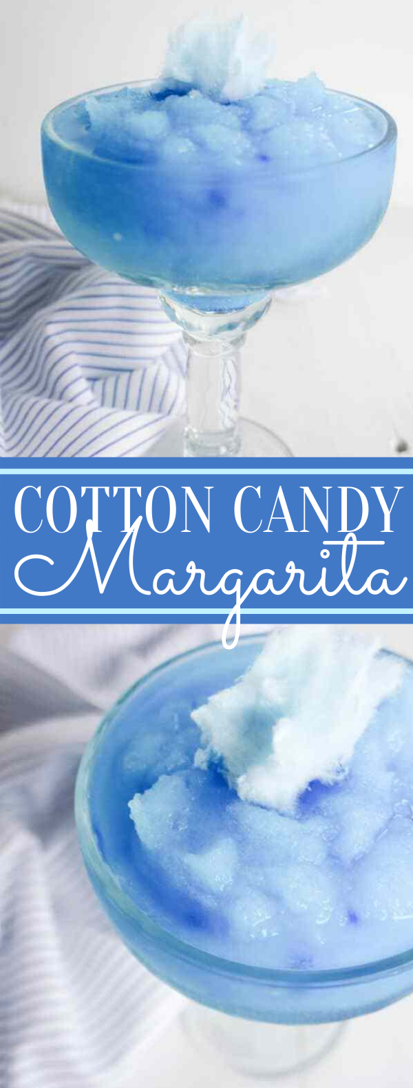 Cotton Candy Margarita #drinks #cocktails