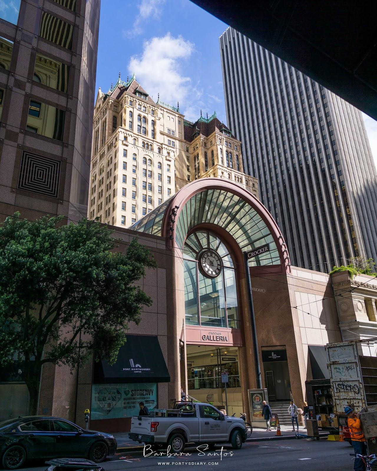 Crocker Galleria - Travel - A week in San Francisco.