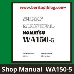 Komatsu shop manual wa150-5
