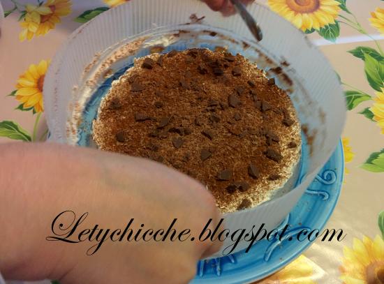 Torta con macine al caffè - Letychicche