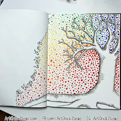 Art Journal Tree