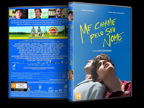 Capa DVD Me Chame Pelo Seu Nome [Custom]