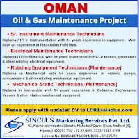 Oil and gas Vacancy