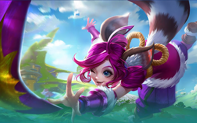 Nana Feline Wizard Heroes Support Mage of Skins Mobile Legends Wallpaper HD for PC