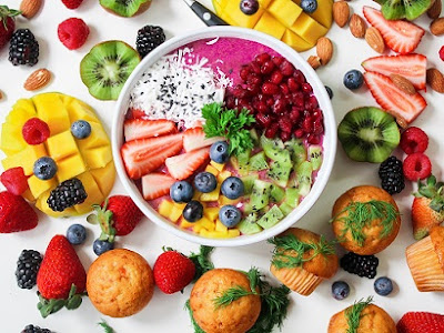 Different types of fruits, which help in vitamins