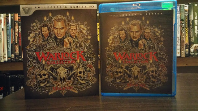 Front Cover and Slip Cover for The Warlock Collection