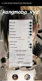 APK MOD X-VPN Rank Booster Premium Mobile Legends