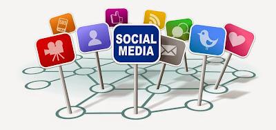 Redes sociales que crecen continuamente
