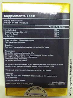 snl slim n light ingredients