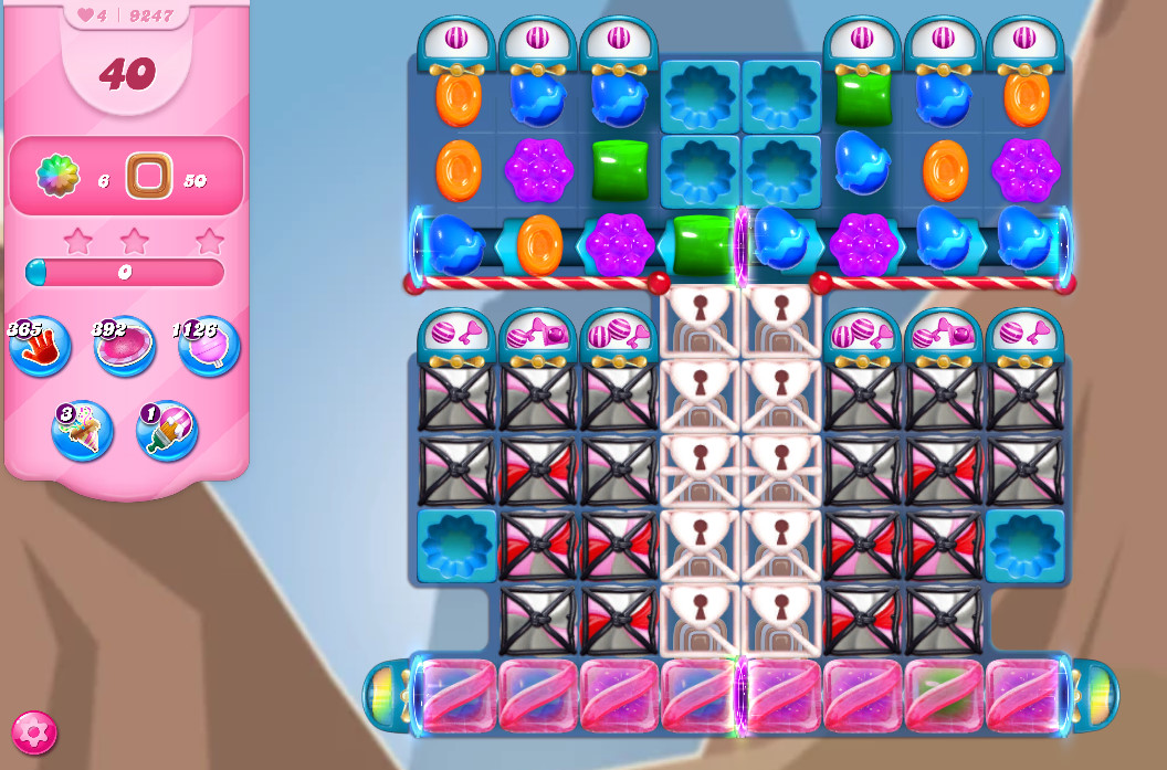 Candy Crush Saga level 9247