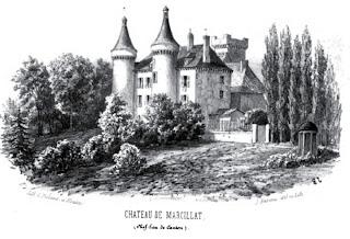 patrimoine de l'Allier château de Marcillat