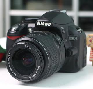 Jual Nikon D3100 Bekas