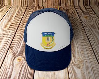 desain topi lambang logo provinsi papua - kanalmu