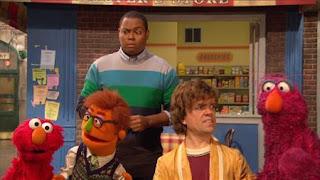 Simon, Peter Dinklage, Elmo, Chris, Telly, Philip, Sesame Street Episode 4405 Simon Says season 44