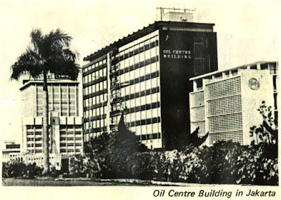 gedung oil centre building sebelum renovasi