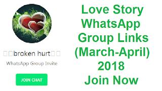 Love Story WhatsApp Group Links