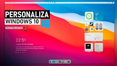 Personalizar Windows 10 como MacOS