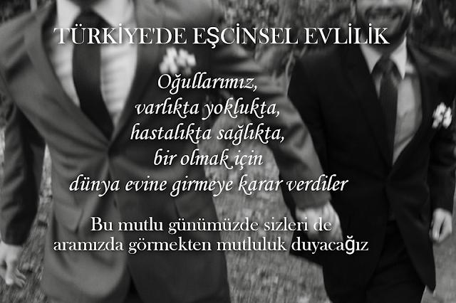 Türkiye'de eşcinsel evlilik