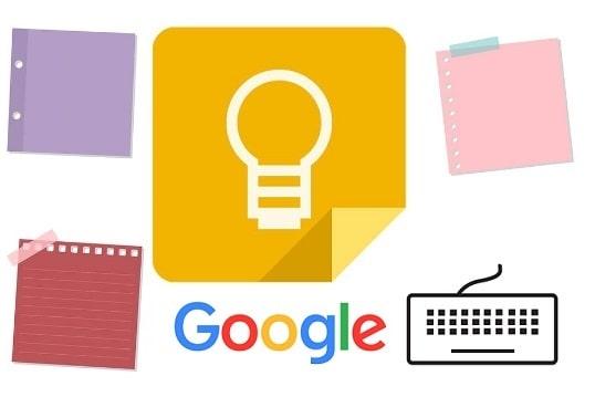 Google Keep Keyboard Shortcuts