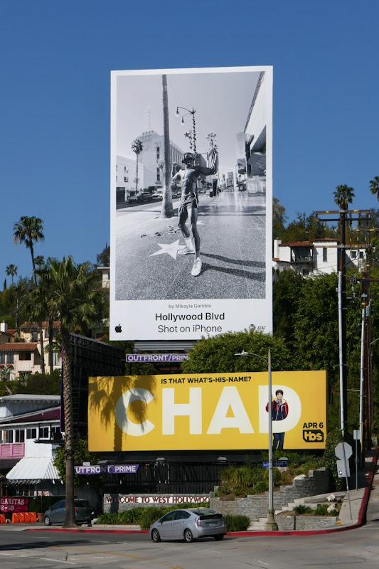 Hollywood Blvd Shot on iPhone billboard Sunset Strip