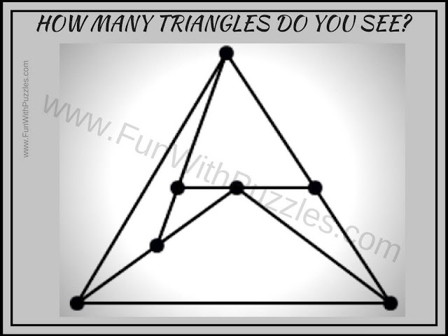 Simple puzzle to count triangles