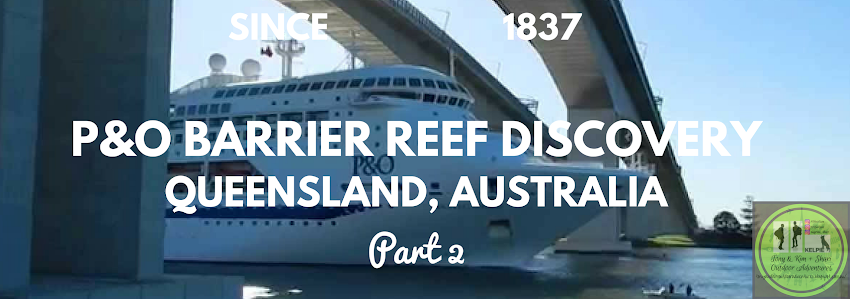 P&O BARRIER REEF DISCOVERY, QUEENSLAND AUSTRALIA, Part 2