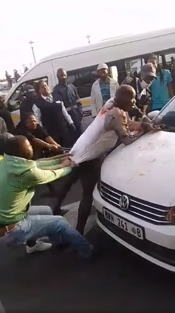 Solly Gupta Ma card card beaten in apparent mob justice incident in Polokwane CBD