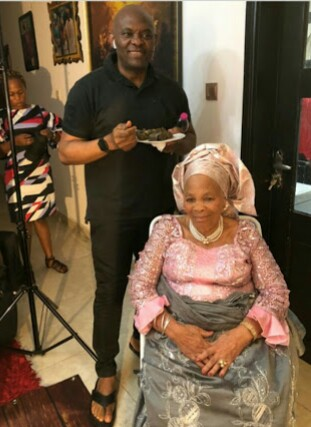 Tony Elumelu's Beautiful Mum Set To Celebrate Her 90th Birthday