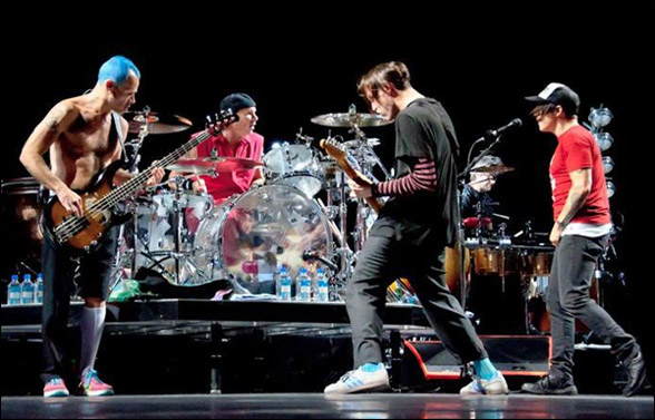 Red Hot Chili Peppers Brasil: Outubro 2013