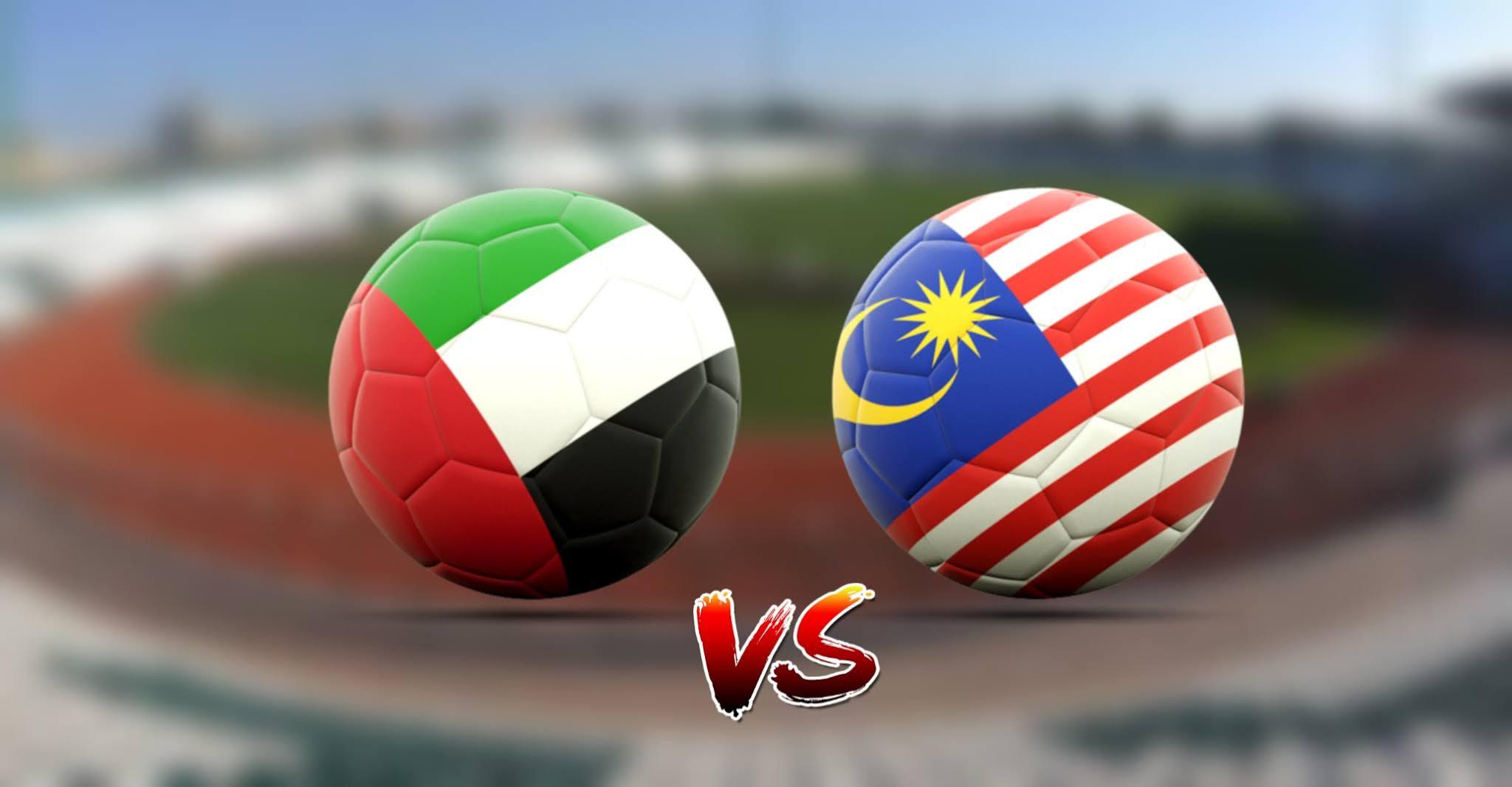 Live Streaming UAE vs Malaysia 3.6.2021 Kelayakan Piala Dunia 2022