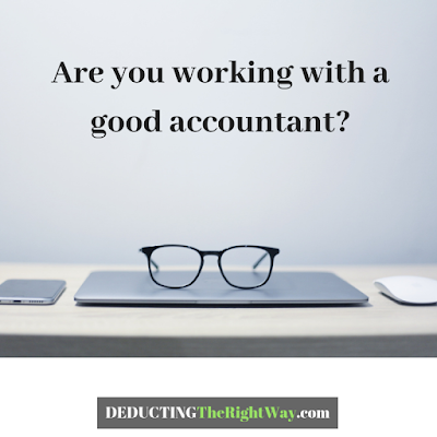 Why should i use an accountant? | www.deductingtherightway.com