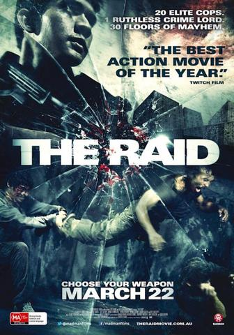 The Raid 2011 UNRATED Dual Audio Hindi 480p BluRay x264 400MB ESubs