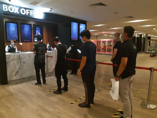 Pawagam Di Terengganu Asingkan Tempat Duduk Mengikut Jantina
