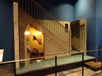 La habitación de la escalera, en la entrada del Studio