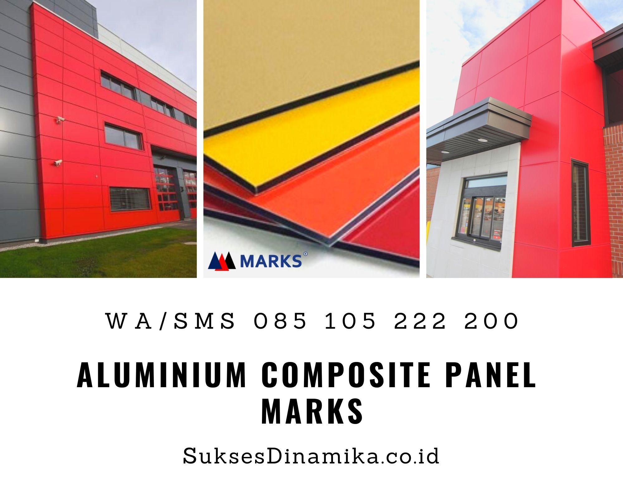 Jual Aluminium Composite Panel Marks Situbondo