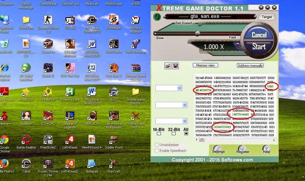 decide x games