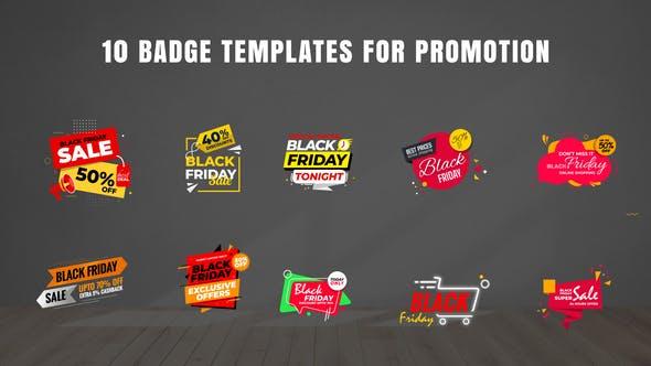 Badges Sale Promo V21[Videohive][After Effects][28885169]