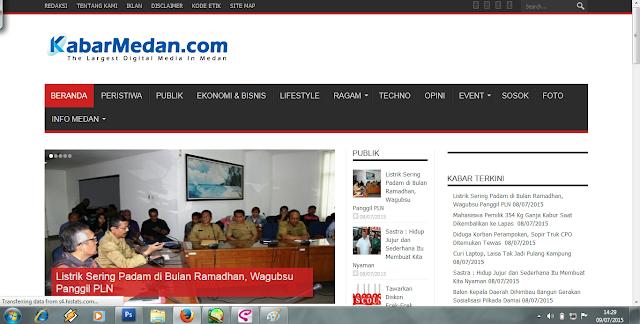 Selamat ulang tahun kabarmedan.com! Apa kabar? Ya kabar Medan!