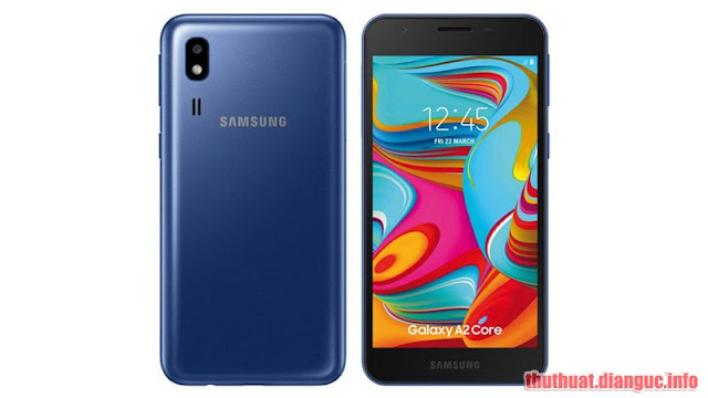 (Tổng hợp) rom combination và rom stock (full) cho Samsung Galaxy A2 Core (2019) (SM-A260)